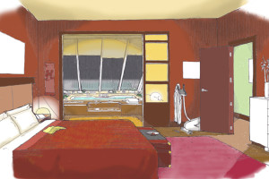 YELLOW PAGES - Jacuzzi / Bedroom set